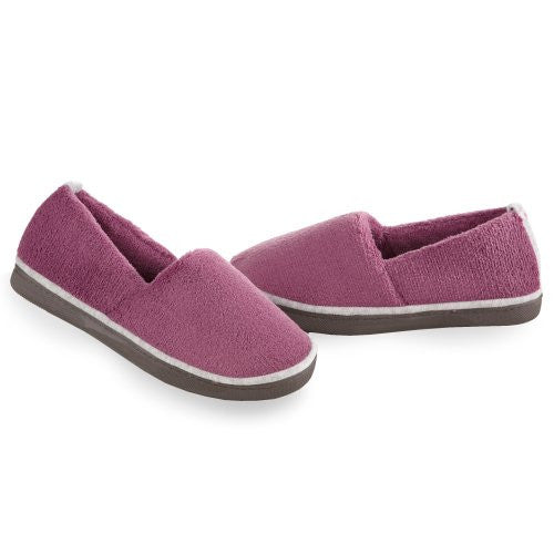 Microterry Espadrille, Ultraviolet, 9 1/2-10