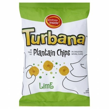 Lime Plantain Chip 7.0 OZ