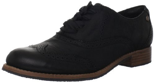 Sebago Women's Claremont Brogue Oxford,Black,7 M US