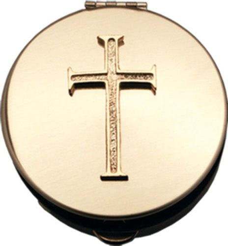 "2 1/8"" Diameter, 1/2"" Deep, Polished Brass"