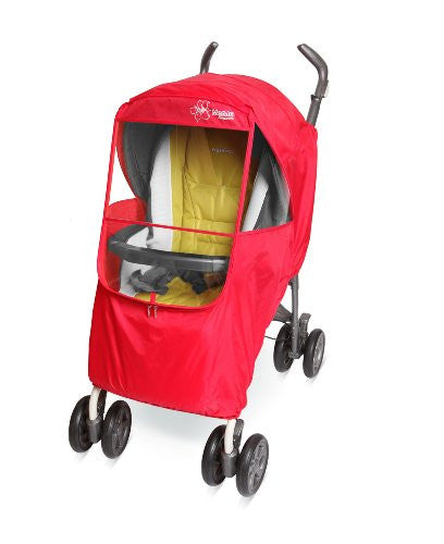 Elegance Plus Stroller Weather Shield, Red