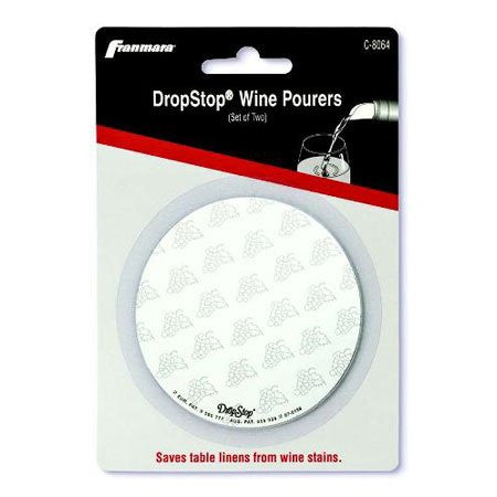 Carded DropStop Wine Pourers