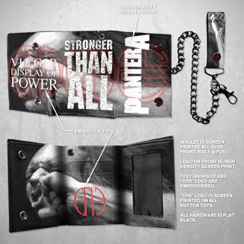 Pantera Stronger Chain Wallet