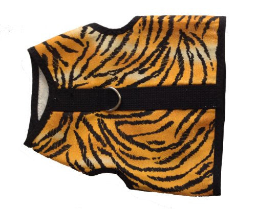 Kitty Holster Cat Harness, Medium/Large, Tiger Stripe