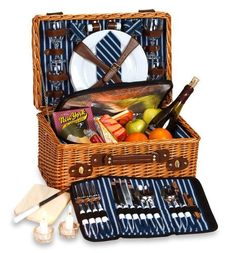Wynberrie 4 Person Picnic Basket Picnic Set