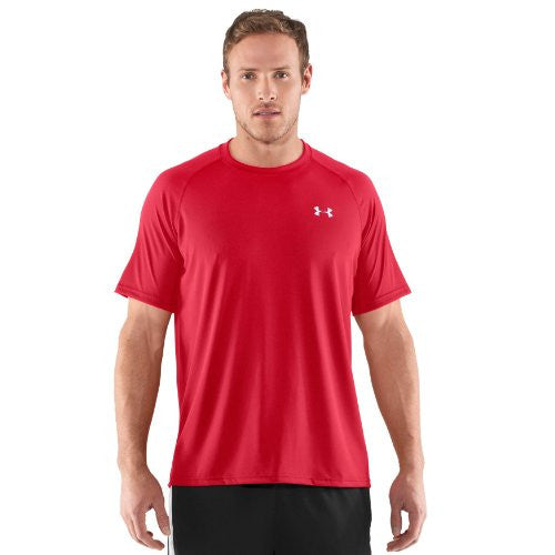 Tech Tee-Shirt - Red/White, 3X-Large