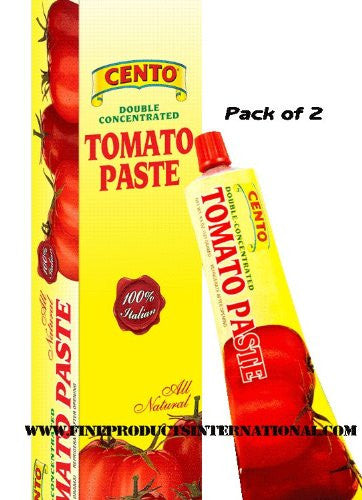 Cento Tomato Paste in Tube, Pack of 2