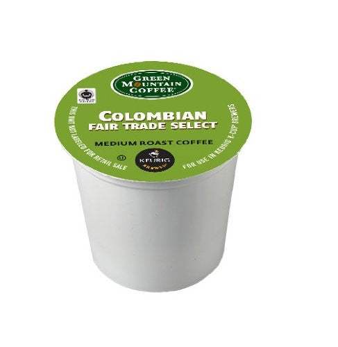 Green Mountain Coffee® Colombian Fair Trade Select Coffee K-Cup® Packs, 24/Bx