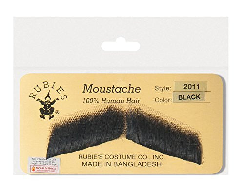 Gent Moustache - Black