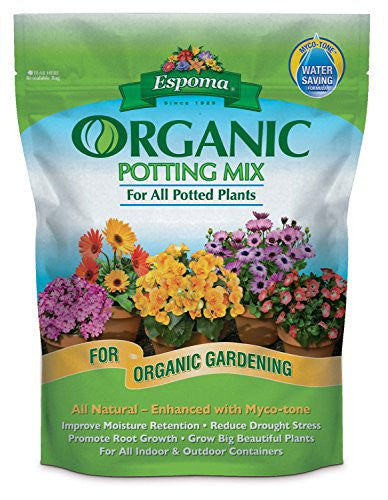ESPOMA COMPANY ORGANIC POTTING MIX, 8 QUART
