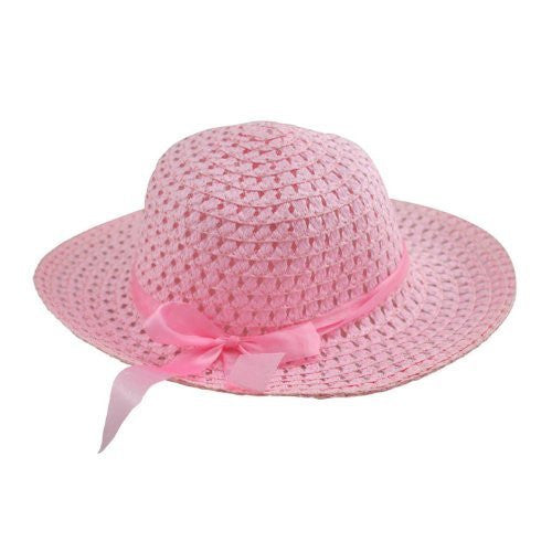 Tea Party Hat. Color: Pink. One size (fits 2-6 years)