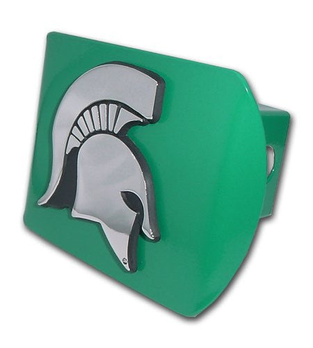 Michigan State (Spartan Head) Green Hitch Cover