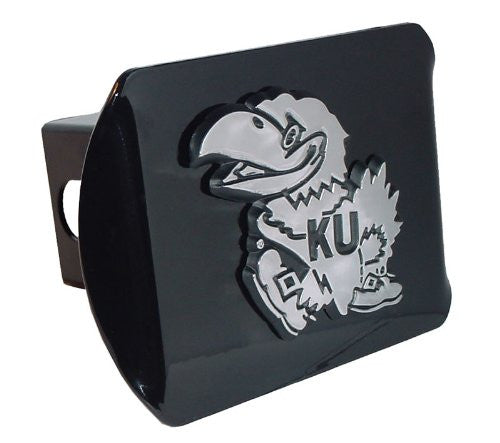 Kansas (Jayhawk) Black Hitch Cover