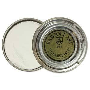 Baroque Art Gilders Paste 1.5oz, White