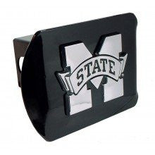 Mississippi State Black Hitch Cover