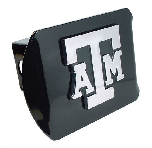 Texas A&M Black Hitch Cover