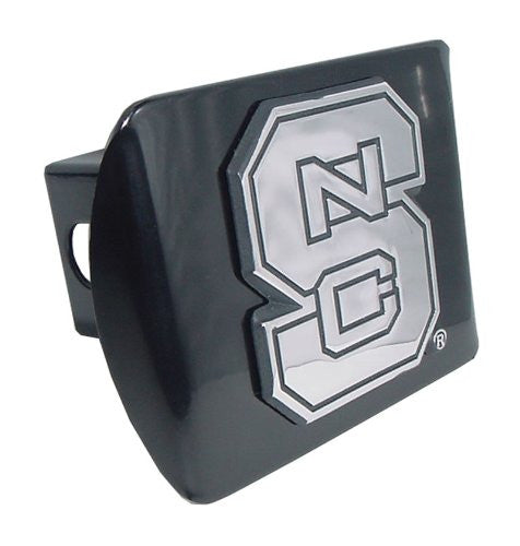 North Carolina State Black Hitch Cover