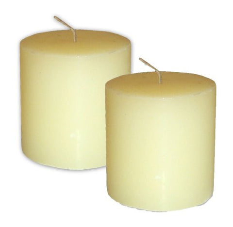Bite Shield Mosquito Repelling Geraniol Pillar Candles 2-Pack