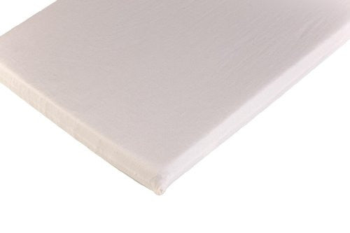 "Bassinet Sheet – Organic Cotton Natural - approx 29 1/4"" x 15 3/4"""