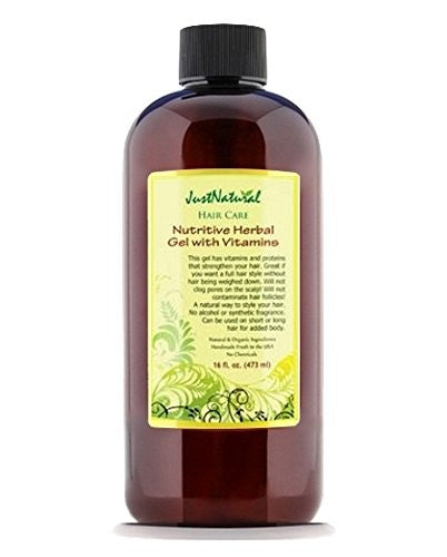 Nutritive Herbal Gel With Vitamins, 8oz