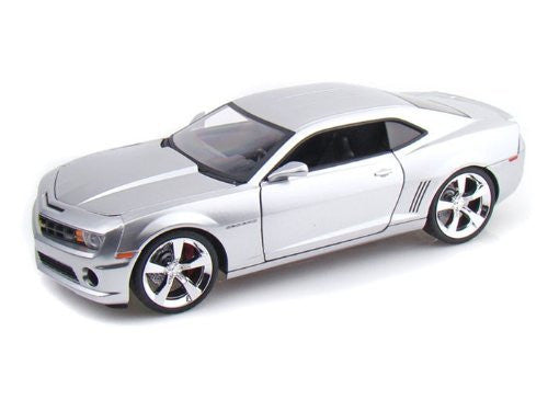 Jada Toys Collector's Club - Chevy Camaro SS Hard Top (2010, 1/18 scale diecast model car, Candy Silver)