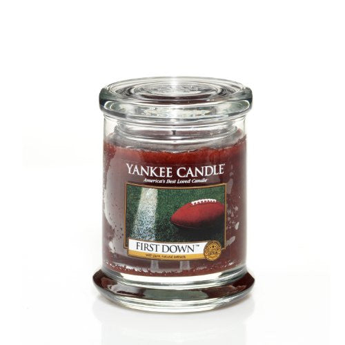 First Down Glass Lid Tumbler Jar Candle By Yankee Candle