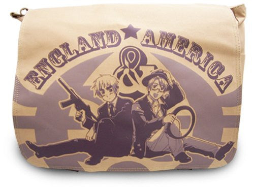 Hetalia US and UK Messenger Bag