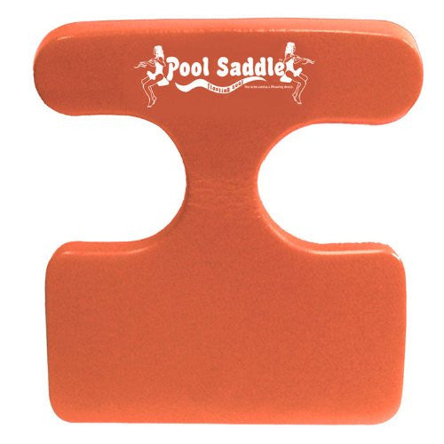 Swimming Pool Saddle Float (Color: Caribbean Coral)