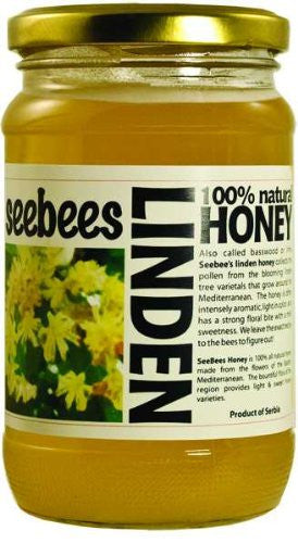 SEEBEES Linden (Lipa) Honey 450g