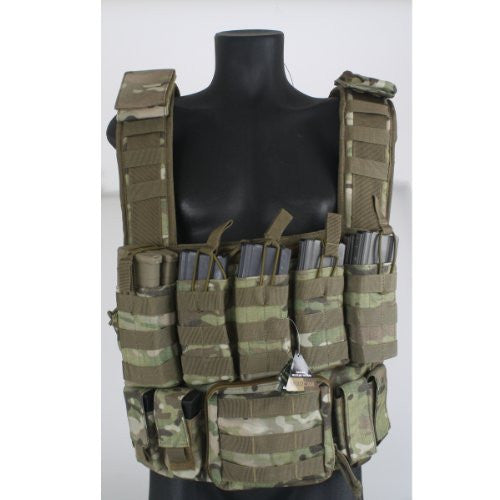 Tactical Chest Rig (Multi Camo)