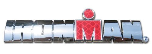 Ironman Word Chrome with Reflective insert