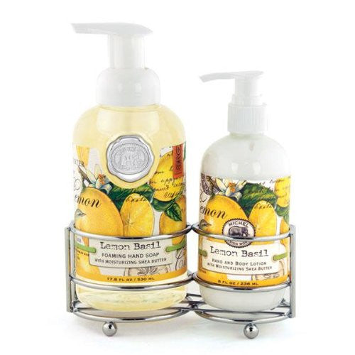 Lemon Basil, Handcare Caddy