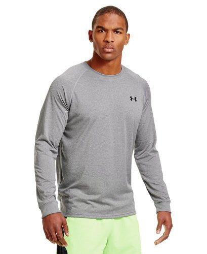 Tech Longsleeve T-Shirt - True Gray Heather, X-Large
