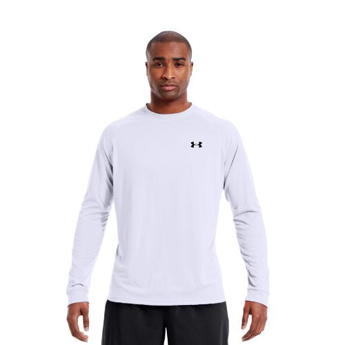 Tech Longsleeve T-Shirt - White, Large