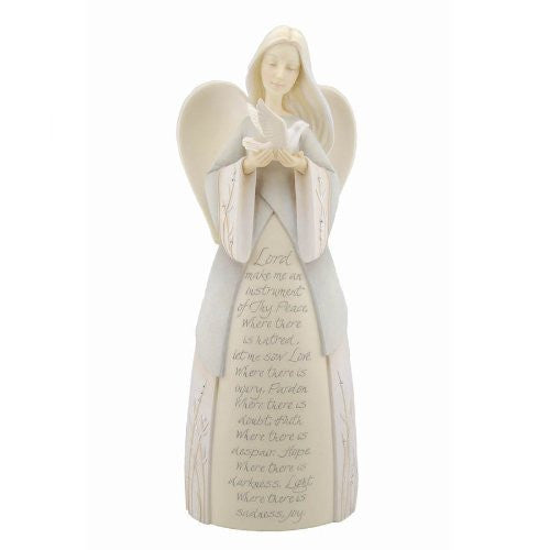 Foundations St. Francis Angel Figurine