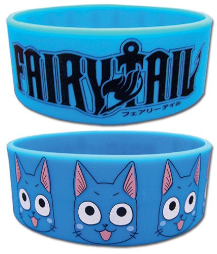 Fairy Tail Happy PVC Wristband