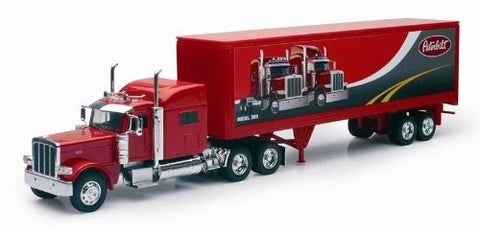 1/32 Peterbilt 389 with Dry Van Trailer