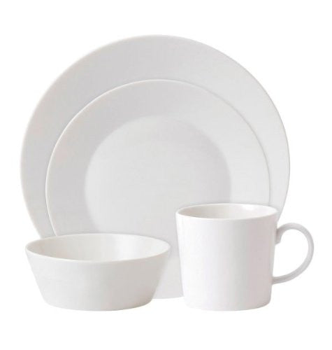 FABLE WHITE 4-PIECE PLACE SETTING WHITE
