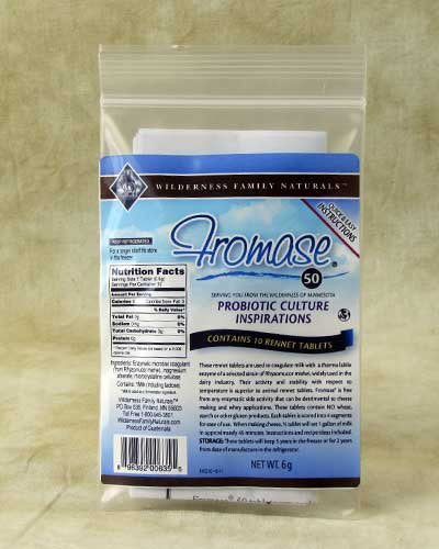 Fromase Rennet Tablets, 10 tablets per • package