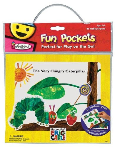 VERY HUNGRY CATERPILLAR FUN POCKET