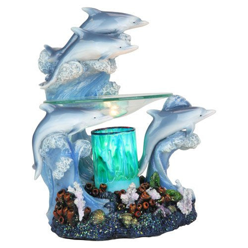 ELECTRIC DOLPHIN OIL WARMER