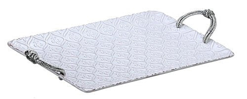 Fleur De Lis Rectangle Platter