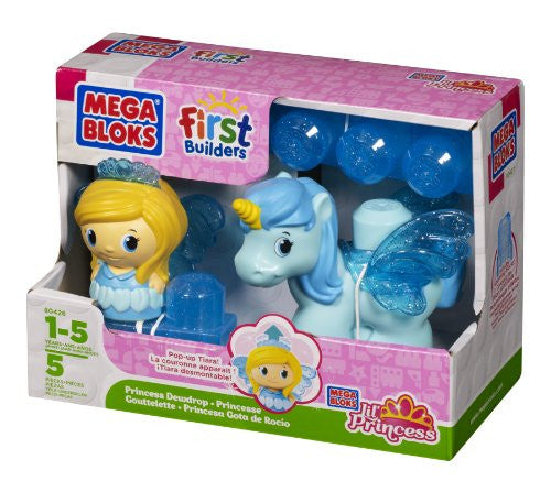Mega Bloks Lil' Princess and Pony (Dewdrop)