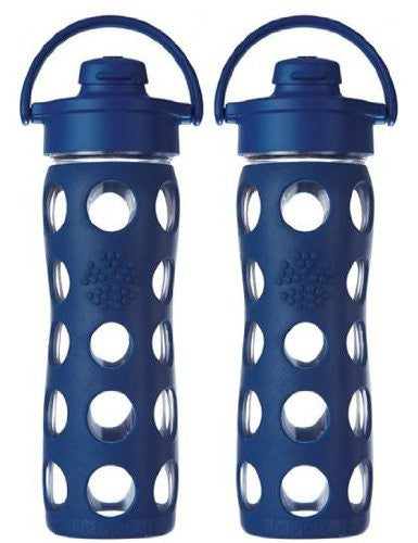 2-Pack Lifefactory 16-Ounce Flip Cap Beverage Bottles