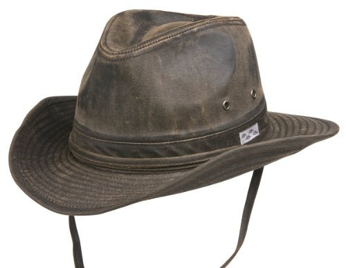 Bounty Hunter Water Resistant Cotton Hat - Brown, Large