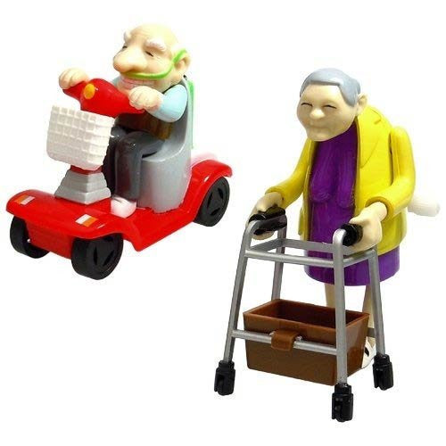 Racing Granny + Speeding Grandad