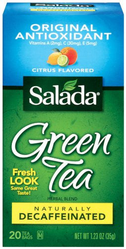 Green Tea with Antioxidant DECAF, Citrus Flavor 20.0 BG