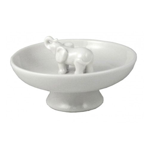 Porcelain Trinket Bowl - Elephant