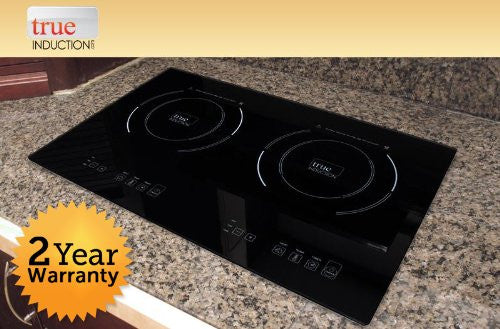 Double Burner Induction Cooktop - Counter Inset Model