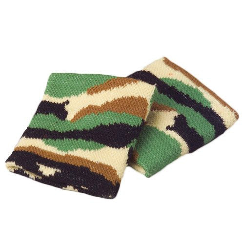 CAMO WRISTBANDS - 12pcs